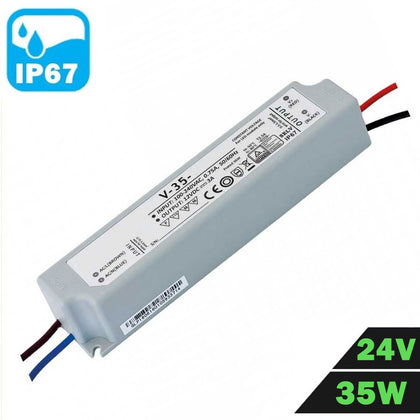 Fuente Alimentación LED IP67 Estanca 24V 35W