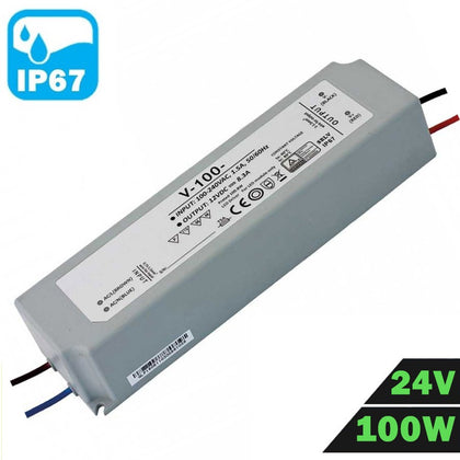 Fuente Alimentación LED IP67 Estanca 24V 100W