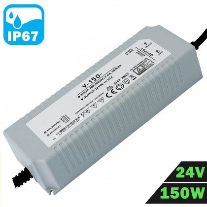 Fuente Alimentación LED IP67 Estanca 24V 150W