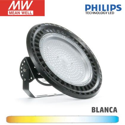 Campana LED UFO 150W Chip Philips Driver Meanwell PRO