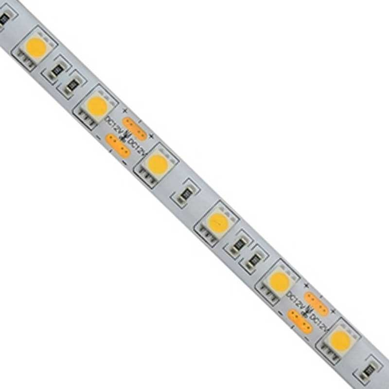 Tira LED 24V 14,4W 60LEDs/m Siliconada IP44