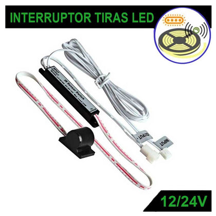 Interruptor Sensor Superficie 12V / 24V 2A Tiras LED