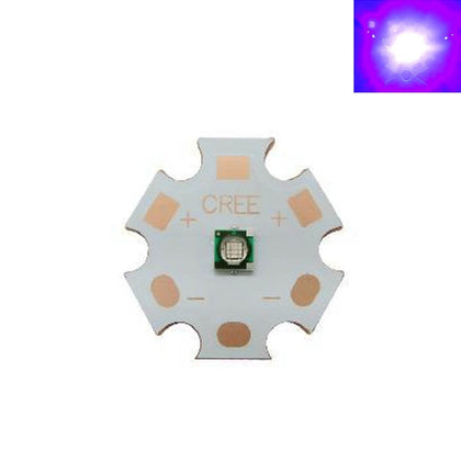 Diodo Chip LED UV Luz Negra de 1W a 3W 3V/3,3V