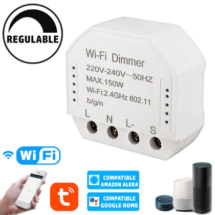 Regulador Dimmer LED WIFI APP Pastilla 150W