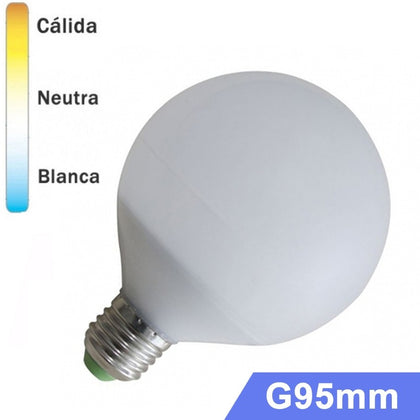 Bombilla LED Globo E27 12W G95mm