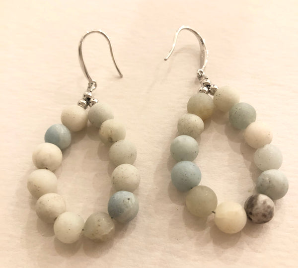 Stone Loop Earring