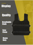 Premium Weighted Vest