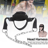 Weight Lifting Adjustable Head Harness