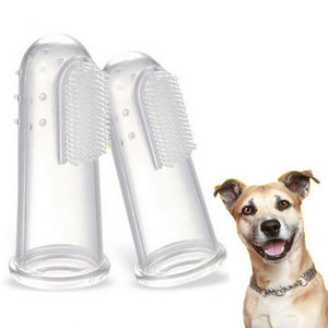 Pet Finger Toothbrush Brush