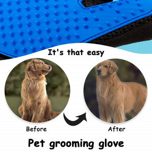 Cat & Dog Glove Grooming Glove - Deshedding & Bath Brush Glove