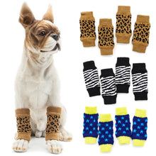 Load image into Gallery viewer, 4 Pieces Dog Leg Warmers (Non Slip)