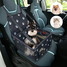 Load image into Gallery viewer, Foldable Pet Car Seat with a little Splash of Color
