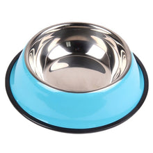 Load image into Gallery viewer, Stainless Steel Pets Dog Water Bowl Travel Food / Water Bowls
