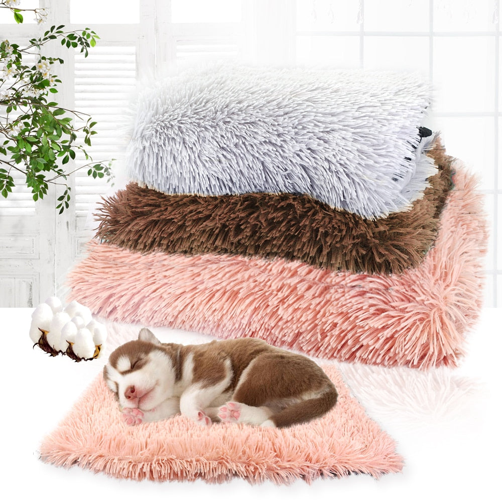 Dog & Cat Cozy Bed -Soft Fleece  Cushion