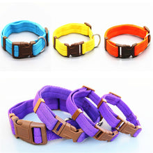 Load image into Gallery viewer, Dog Collar in 7 Groovy Colors - Small/Medium Dogs and Cats