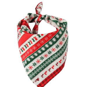 Pet Dog Bandana Large Pet Scarf Christmas Pet Costume Stylish Bibs Kerchief Accessories For Small Medium Large Dogs Cats Access