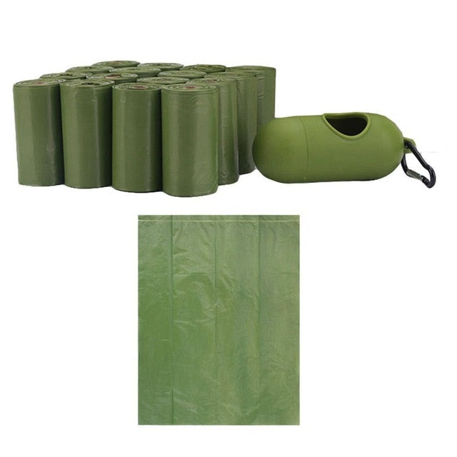 Poop Bags -Large - 16 Rolls 240 Bags with Dispenser-Biodegradable/Eco Friendly
