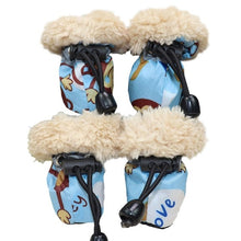 Load image into Gallery viewer, 4 Piece Set - Winter Booties - Breathable, Waterproof, Non Slip & Toasty Warm