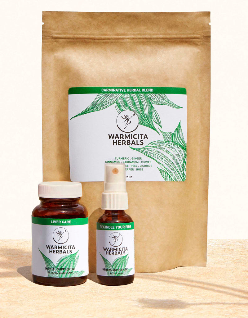 Warmicita Herbals Liver Digestive Health Wellness Program