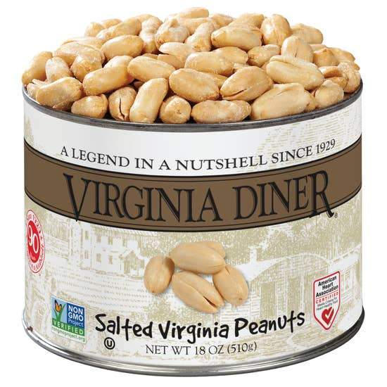 Salted Virginia Peanuts (10oz)