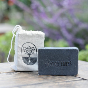 Signature Goat Milk Bar Soap (Charcoal)