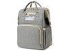 USB Diaper Bags Backpack Foldable