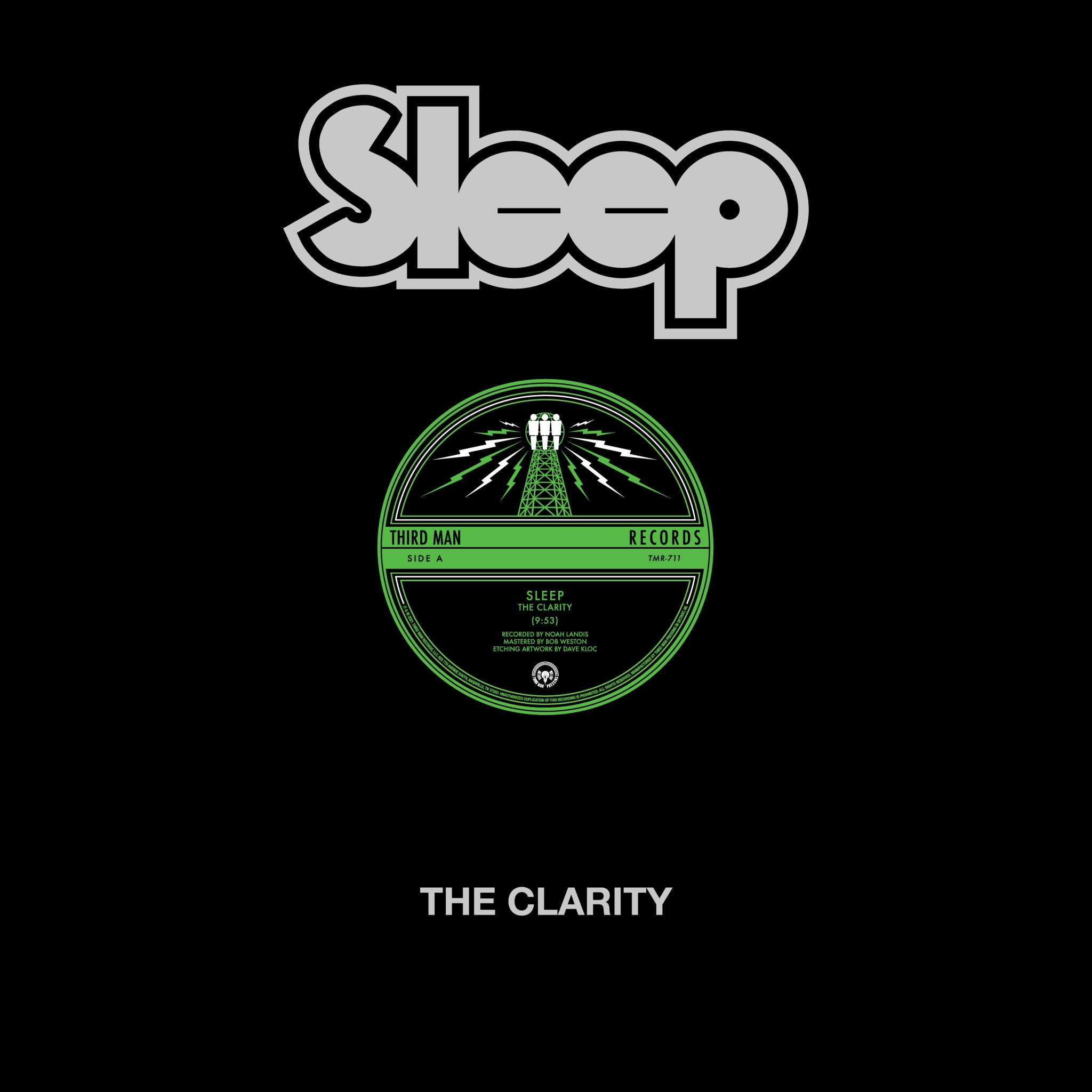 The Clarity (Standard Black Vinyl)