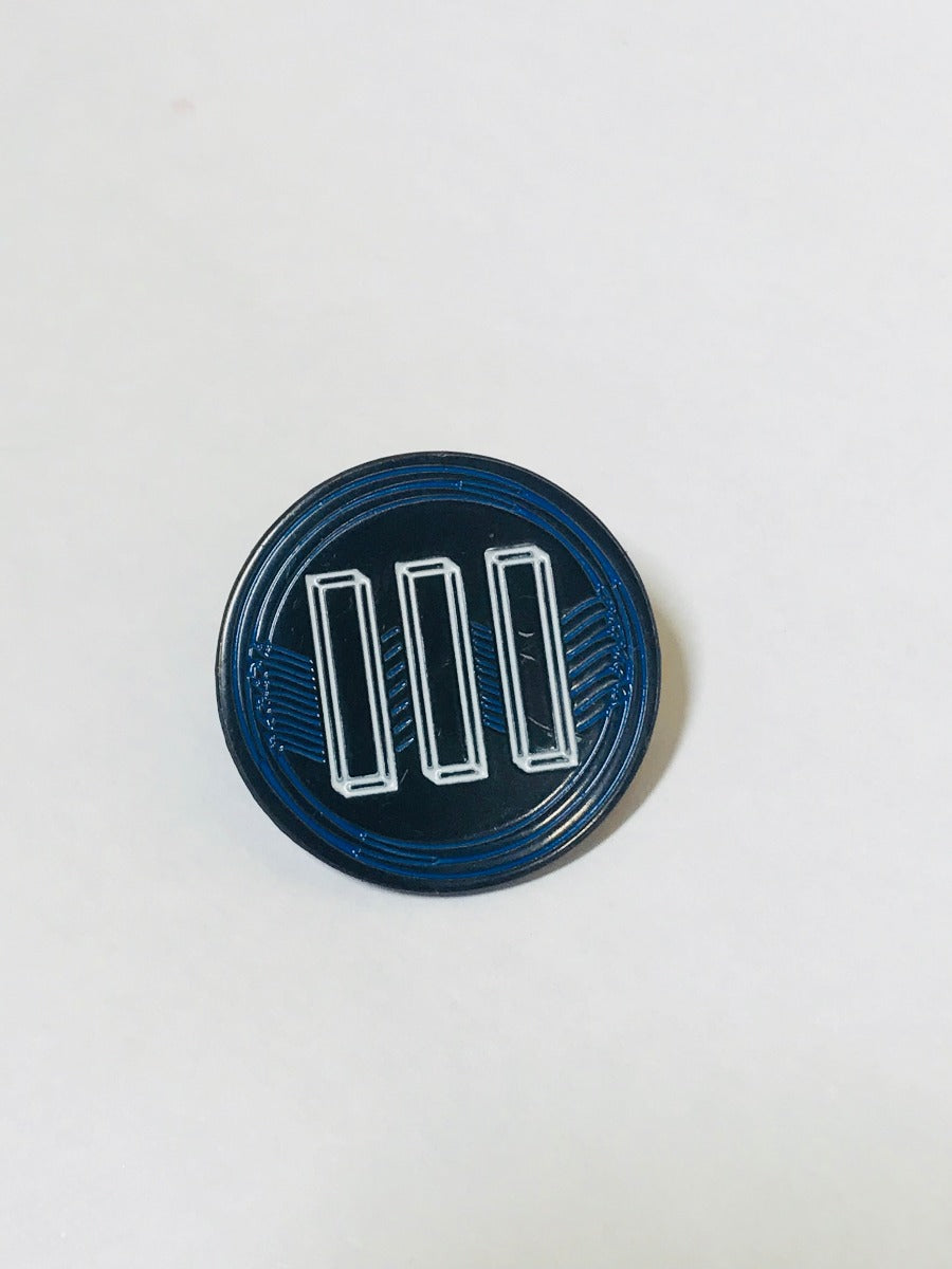 Boarding House Reach III Round Lapel Pin