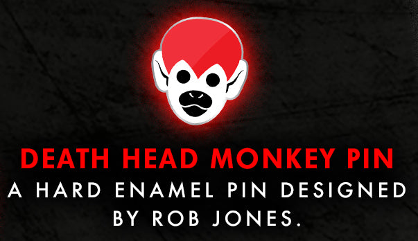 Death Head Monkey Pin (Vault 23)
