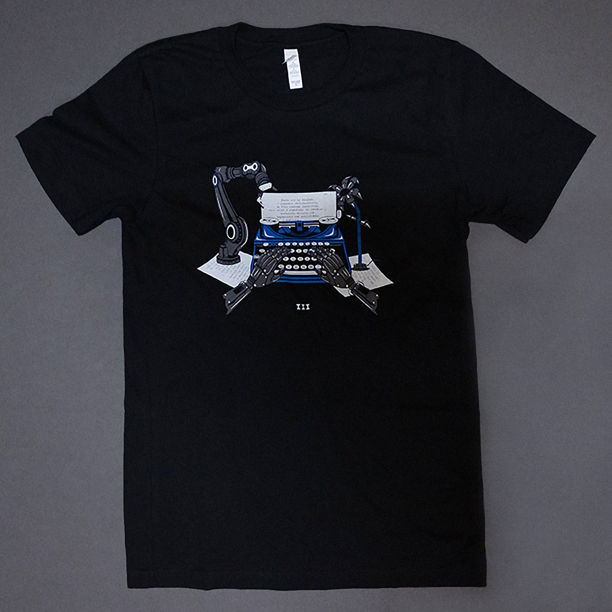 Boarding House Reach Typewriter T-Shirt