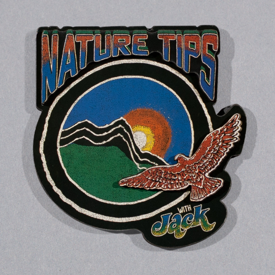 Nature Tips with Jack Wooden Magnet