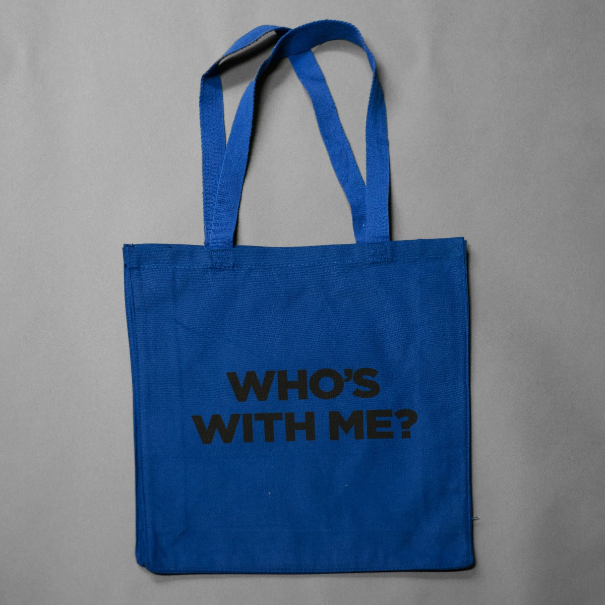 """Who's With Me?"" Record Tote"