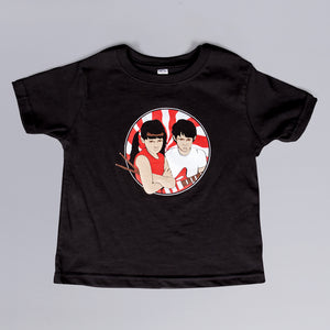Jack and Meg Peppermint Kid's T-Shirt
