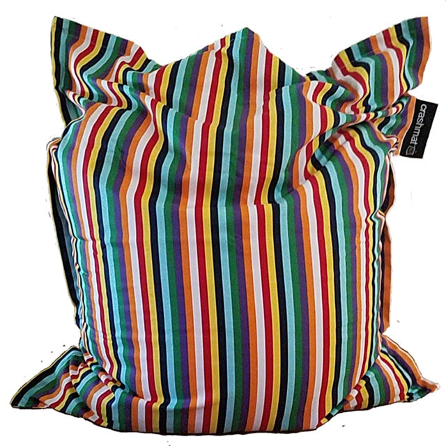 beach stripe beanbag
