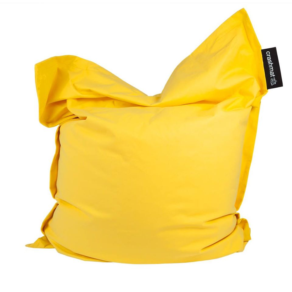 Yellow Beanbag - Crashmat