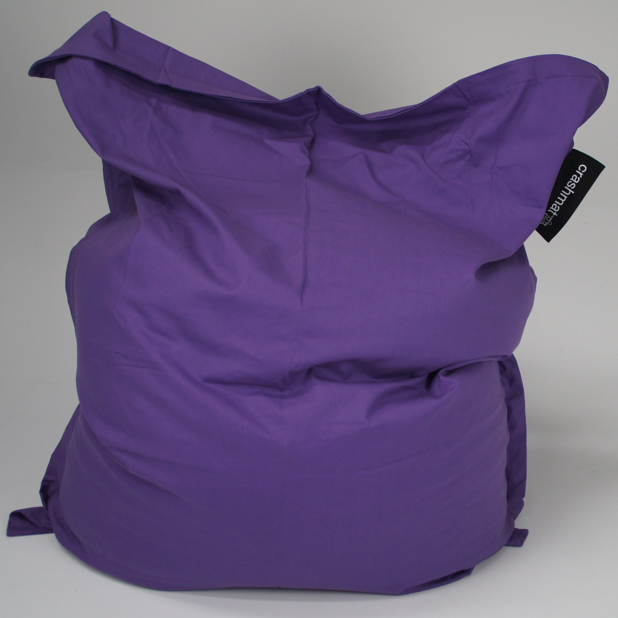 Purple beanbag