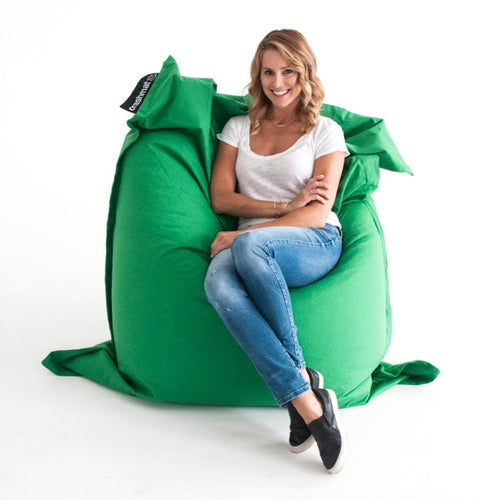 Green Beanbag - Crashmat