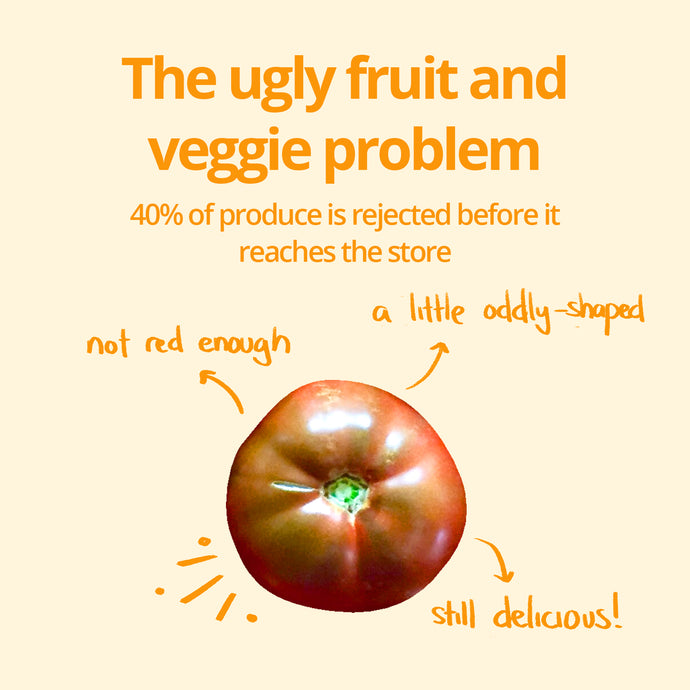 The ugly fruit and veggie problem