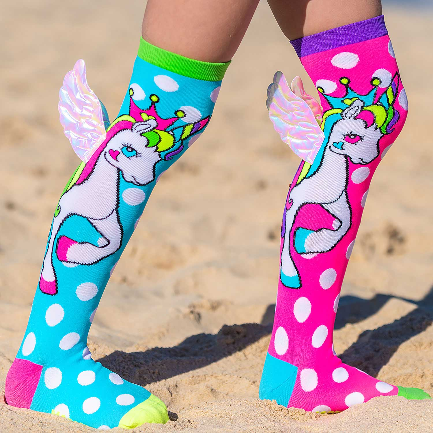 FLYING UNICORN SOCKS