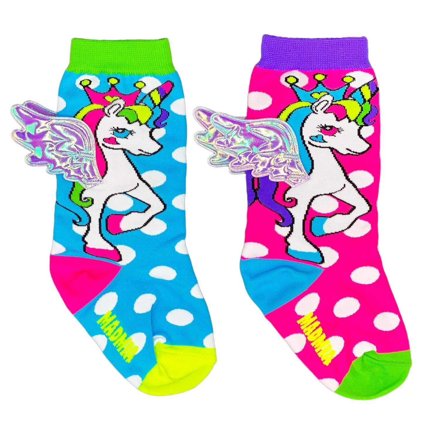 FLYING UNICORN BABY SOCKS