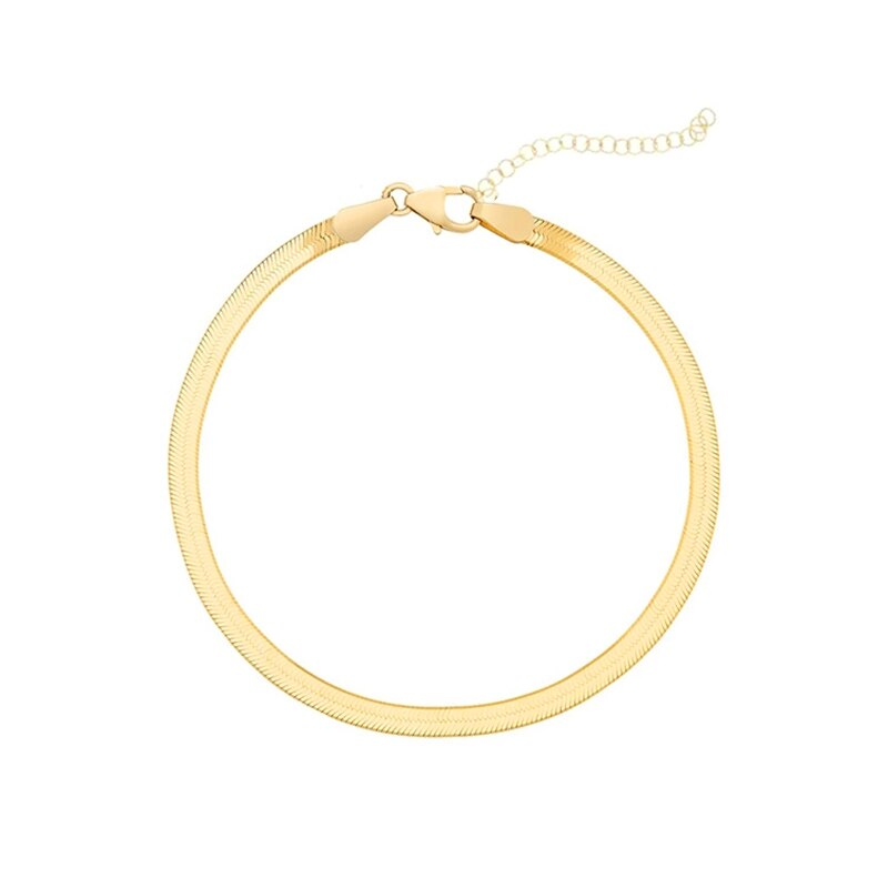 Snake Chain Gold - Bizoux Sterling