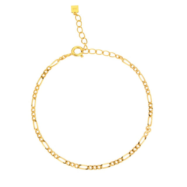 Rosa Chain Gold - Bizoux Sterling