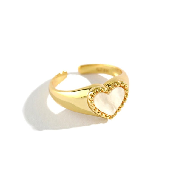 Coeur Gold - Bizoux Sterling