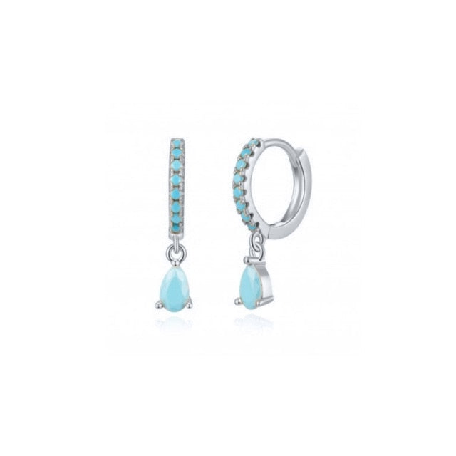 Turquoise Zola Silver - Bizoux Sterling