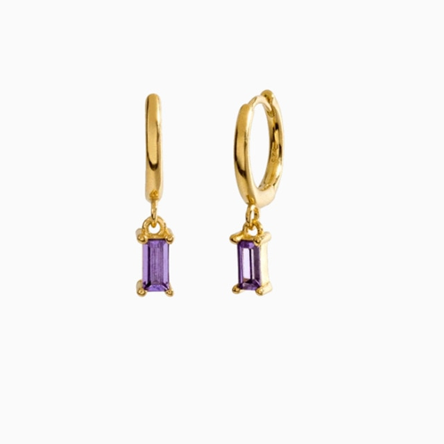 Charlotte Purple Gold - Bizoux Sterling