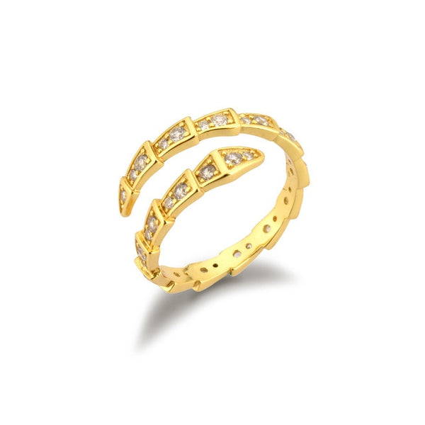Serpiente Gold - Bizoux Sterling