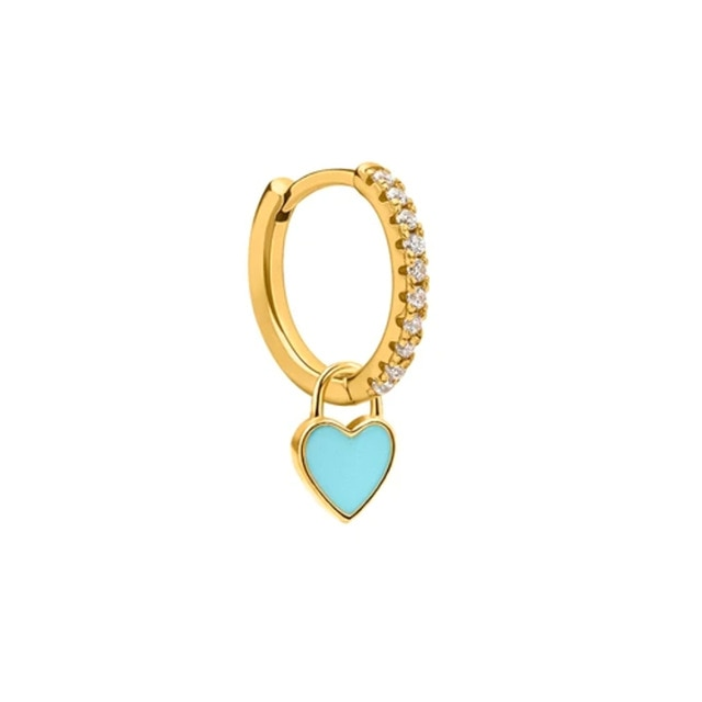 Cupid Blue Gold - Bizoux Sterling