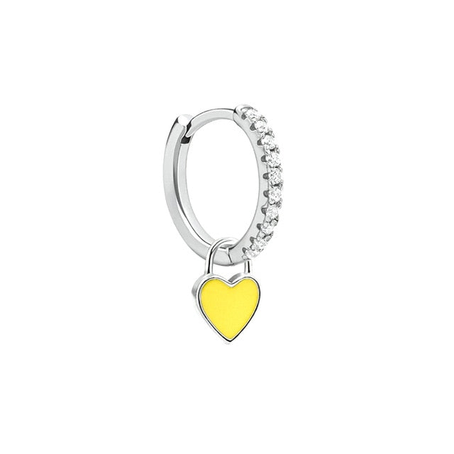 Cupid Yellow Silver - Bizoux Sterling