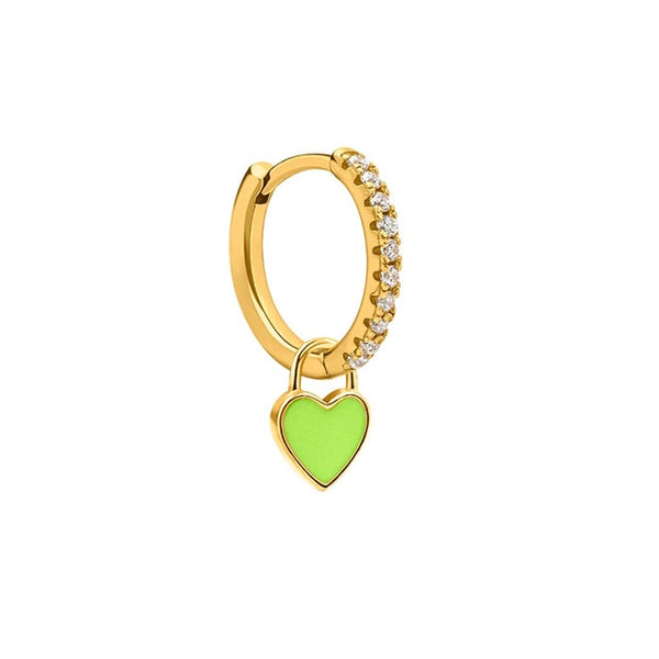 Cupid Green Gold - Bizoux Sterling