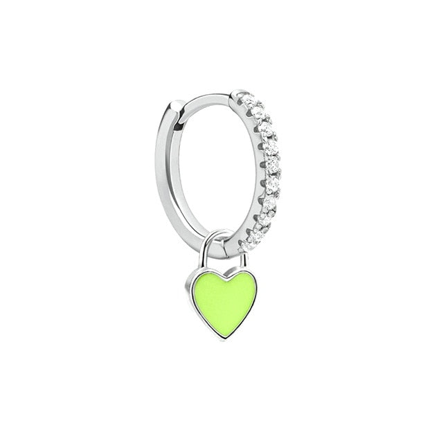 Cupid Green Silver - Bizoux Sterling